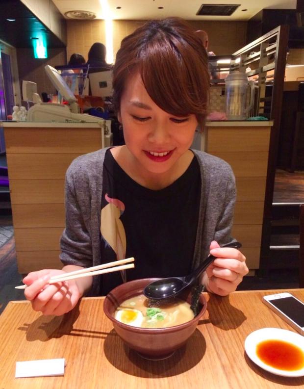 日台女生交換日記~適合女生吃的日本拉麵