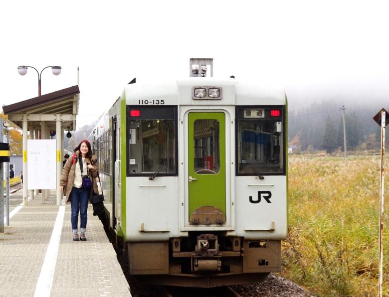 日本只見町電車