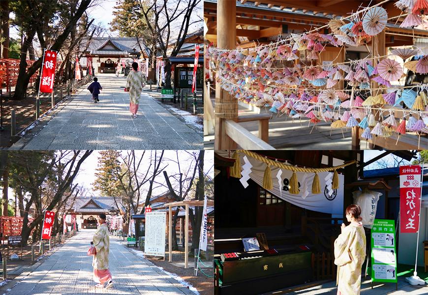 長野上田城跡公園真田神社