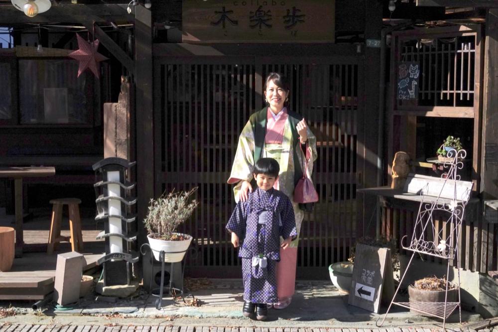 長野上田城下町柳町和服