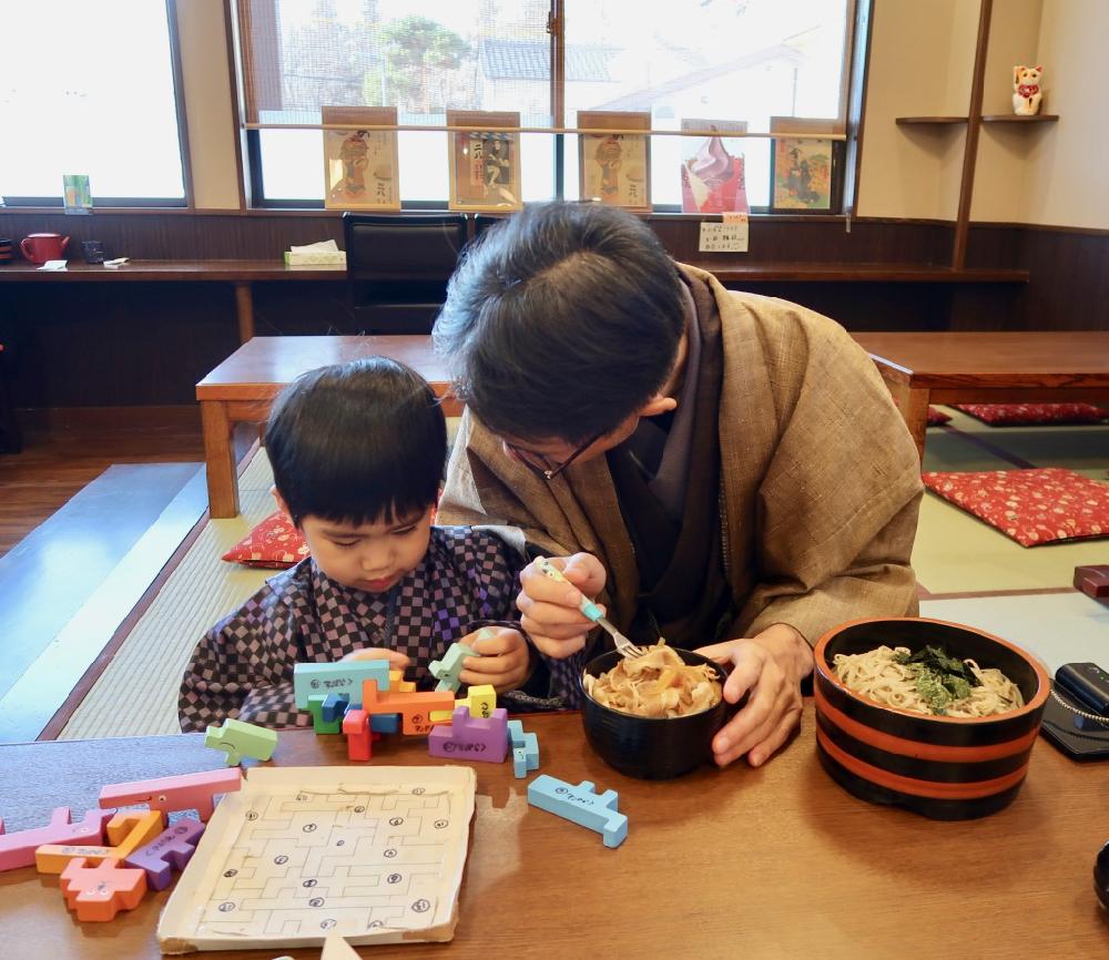 長野上田美食蕎麥麵草笛