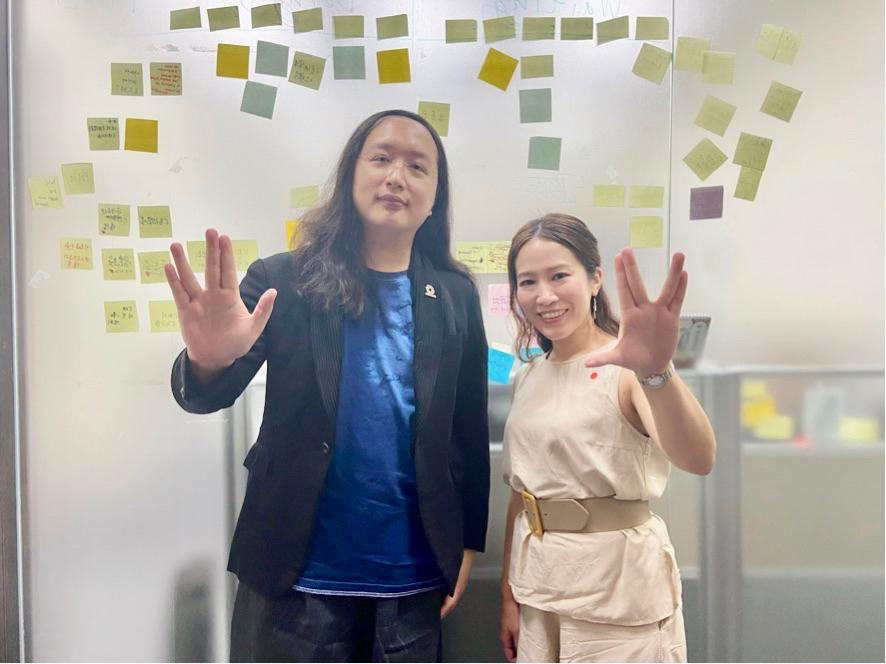明太子 x Yaeko日台女生交換日記Vol.6 Yaekoさん出了一本「唐鳳」的書!